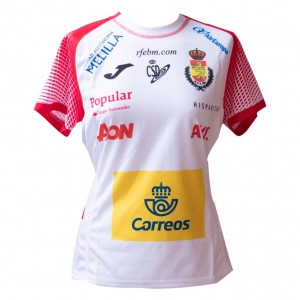 Camiseta Joma España femenino 2018 3º equipación