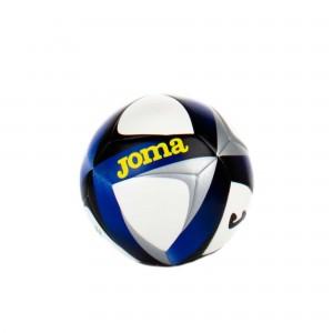 JOMA - Balón blanco y azul Victory Sala