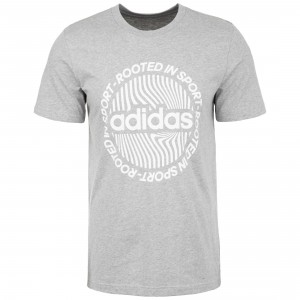 Camiseta Hombre Adidas M Crcld