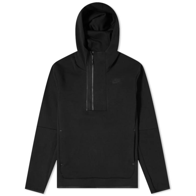 Sudadera con capucha y media cremallera - Hombre Nike Sportswear Tech Fleece