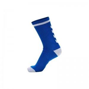 Calcetines Hummel Elite Indoor Sock Low Azul/Blanco